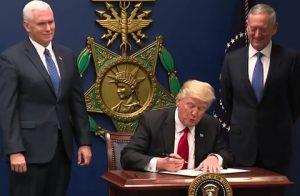 Trump signing order January 27