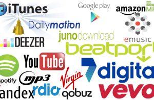 digitla music companies