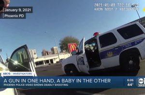 Police Shoot man