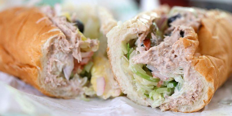subway tuna